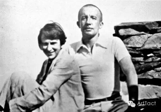 加拉和第一任丈夫保尔·艾吕雅