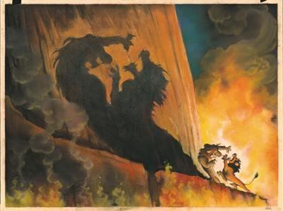 《狮子王》手绘图