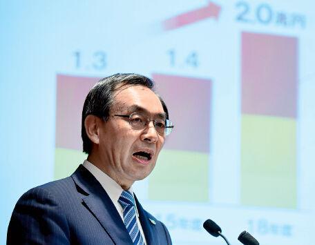 3月26日,松下电器在日本东京召开发布会,公布年度商业计划。CFP