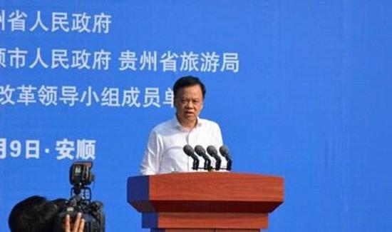 贵州省委副书记、省长陈敏尔致词