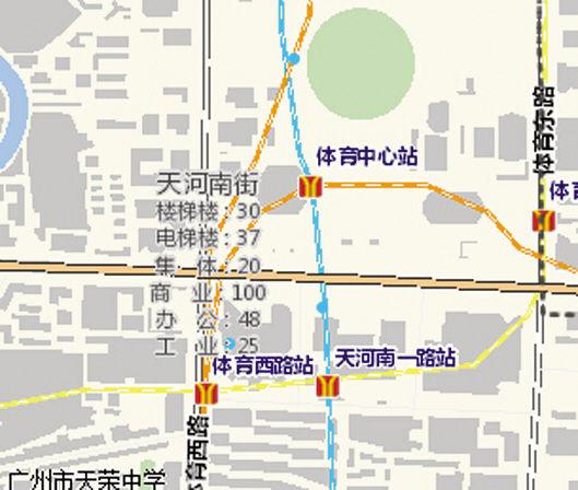 广州租金参考价gis地图受质疑 与市场价相去甚远