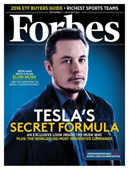 《福布斯》杂志封面