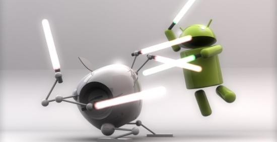 google、HTC和LG等玩家此次都站在三星暗地里,两大营垒壁垒清楚