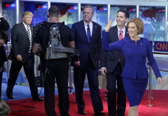 菲奥莉娜在辩论中获得了很高的人气