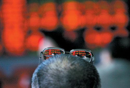 部分中国家庭把股市当赌场