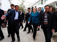 """默克尔感受""""合肥好家风"""" 德国总理与中国农民的一段佳话"""