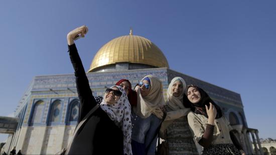 巴勒斯坦人的3G捷足先登