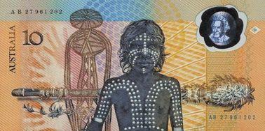 10澳元塑料钞票