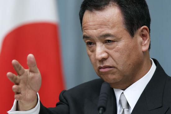 材料图:日本经济再生担任相甘利明