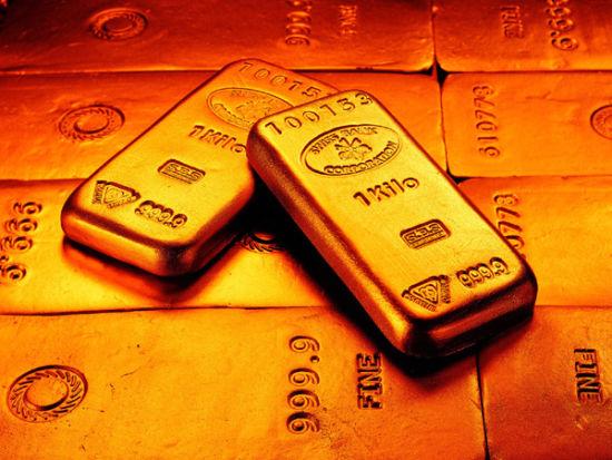 黄金价格下跌_纽约商品交易所2月份交割的黄金期货价格下跌4.50美元或0.