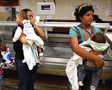 委内瑞拉濒临全民挨饿状态
