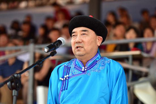 内蒙古自治区副主席云光中宣布开幕