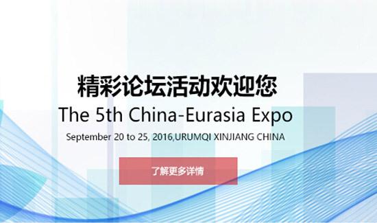第五届中国―亚欧博览会论坛及专题活动
