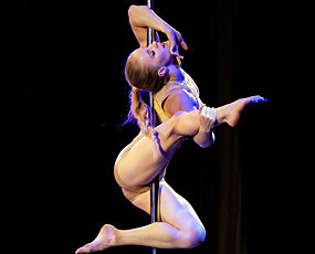 惊艳!2016年钢管舞世界锦标赛