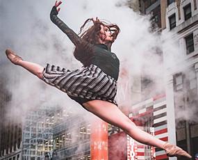 太美!街头芭蕾如此性感惊艳