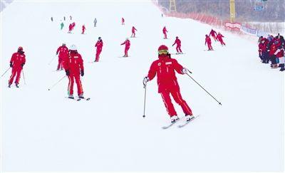 金龙山滑雪节