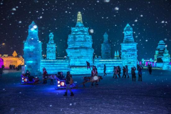 冰雪大世界景观
