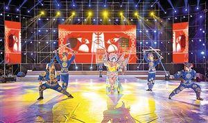 沙井粤剧精彩表演让观众鼓掌叫好。
