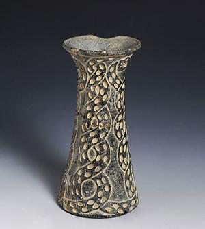 蛇纹锥形瓶