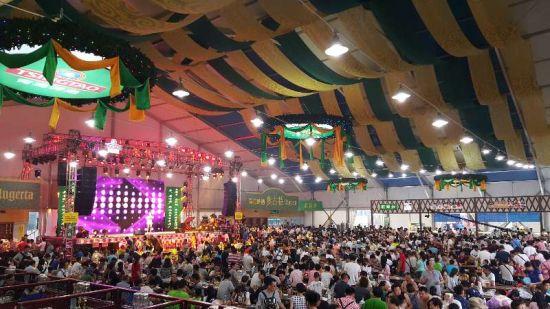 青岛国际啤酒节崂山会场11日开喝!