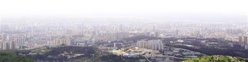俯瞰昆明市区。 (资料图片)