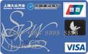 建行上海大众龙卡(银联+VISA,人民币+美元,普卡)