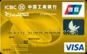 工商牡丹艺龙卡(银联+VISA,人民币+美元,金卡)