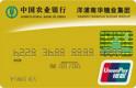 农行金穗洋浦南华糖业集团联名卡(银联,人民币,金卡)