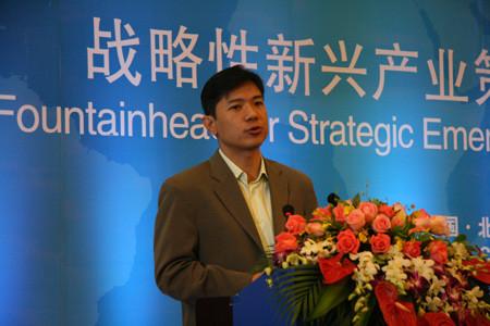 百度的创始人、董事长兼首席执行官李彦宏先生发表主旨演讲
