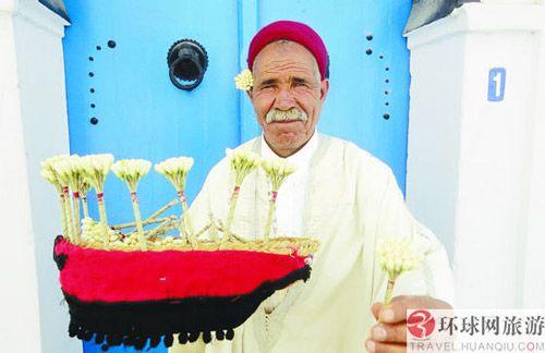 突尼斯人人都爱茉莉花(图)