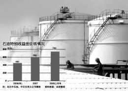 石油暴利税短期内调整无望