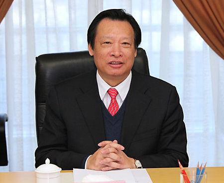 图为电监会主席吴新雄。(资料图片)