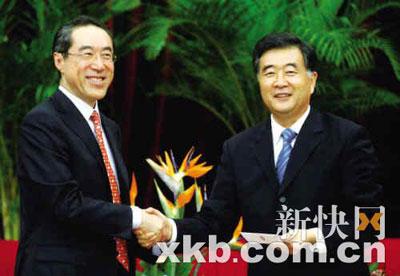 粤港合作框架协议年内签署