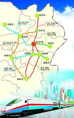 长株潭城际铁路力争下月动工