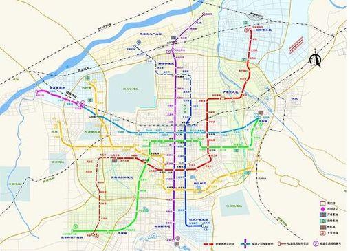陕西西安规划再建4条地铁线路