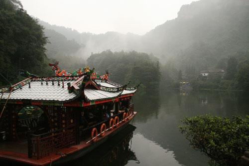 9月11日:获奖网友青城山之行(组图)
