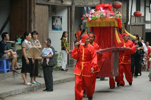 9月12日:获奖网友游仙古镇之行(组图)