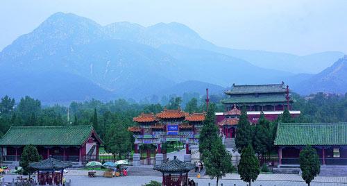 中岳庙:中国五岳最大的古建筑群(组图)