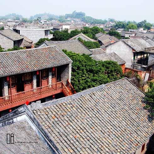 南宁旅游:珍贵的历史文化遗产扬美古镇(组图)