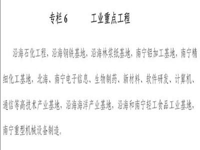 广西北部湾经济区发展规划(第四章)