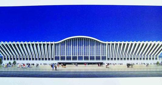 齐齐哈尔新火车站设计方案已出(图)