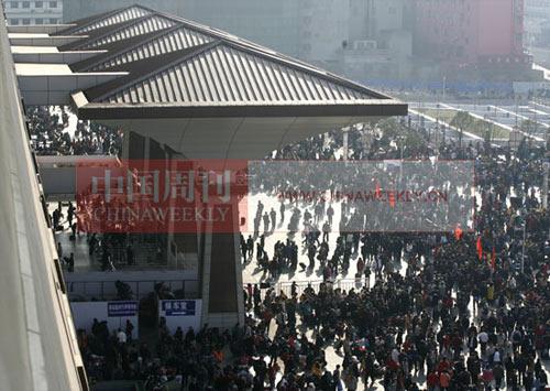 郑州武汉因铁路而兴盛 两座城市争枢纽地位(图)