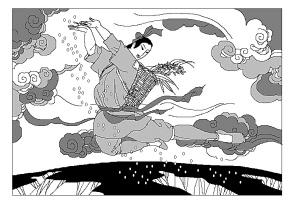 牡丹故事:洛阳牡丹生邙山 牡丹生日在中秋(图)