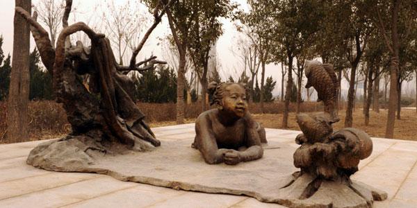 全新旅游体验:华山孝文化主题雕