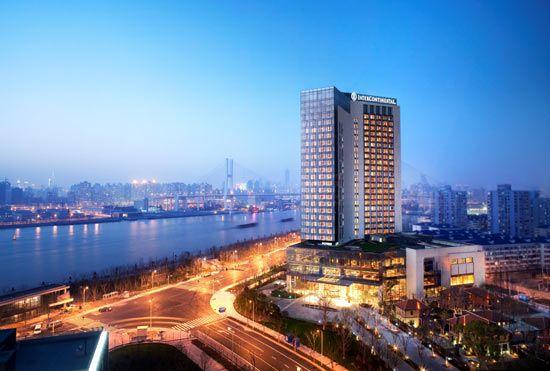 最佳新开业酒店候选:上海世博洲际酒店