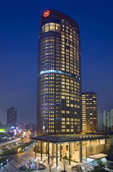 最佳商务酒店候选:上海浦东喜来登由由酒店