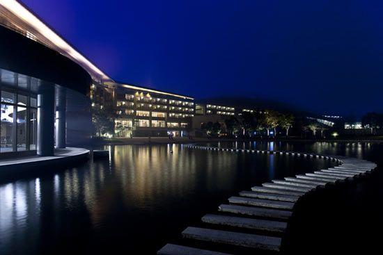 最佳度假酒店候选:上海世茂佘山艾美酒店