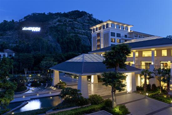 最佳设计酒店候选:厦门艾美酒店