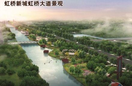 基建招商齐推进 江苏虹桥新城今年将初现芳容