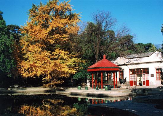 最佳接待单位候选:香山公园